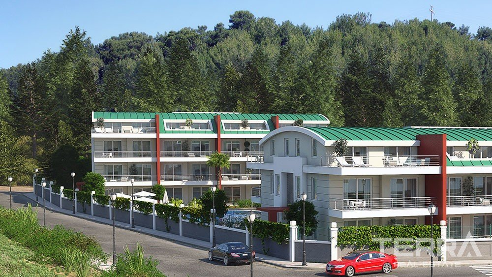 Apartments at affordable prices in Avsallar, Alanya
