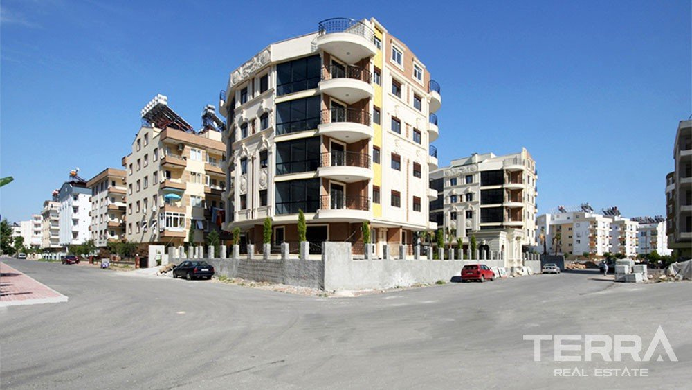 Unique apartments for sale in Konyaalti, Antalya
