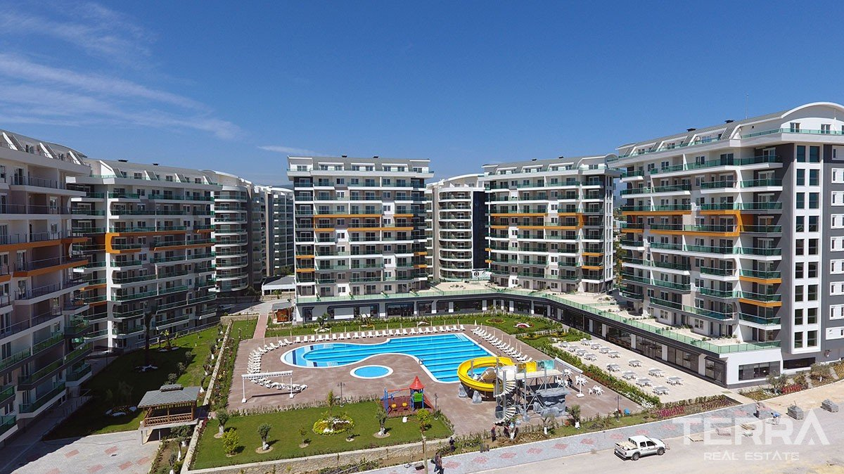 Olive Garden Apartments for Sale in Avsallar, Alanya