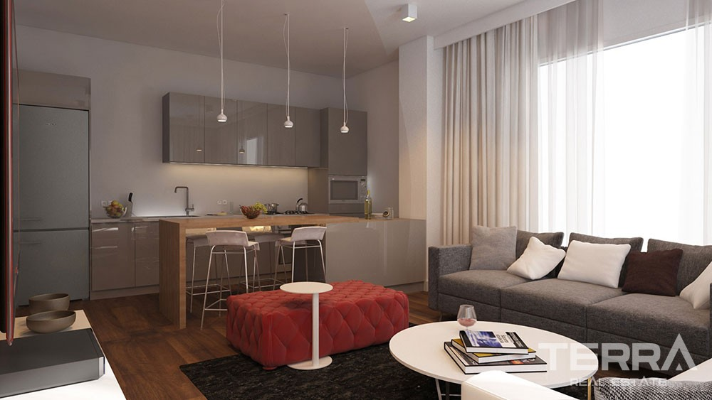 Luxury apartments for sale in central Beylikdüzü, Istanbul