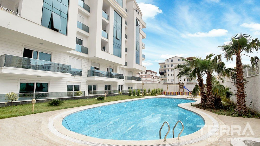 Stylish apartments for sale in Antalya