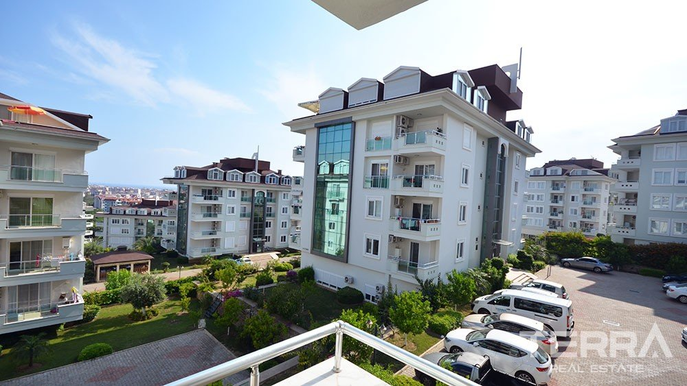 Two bedroom furnished apartment in Olive City, Alanya