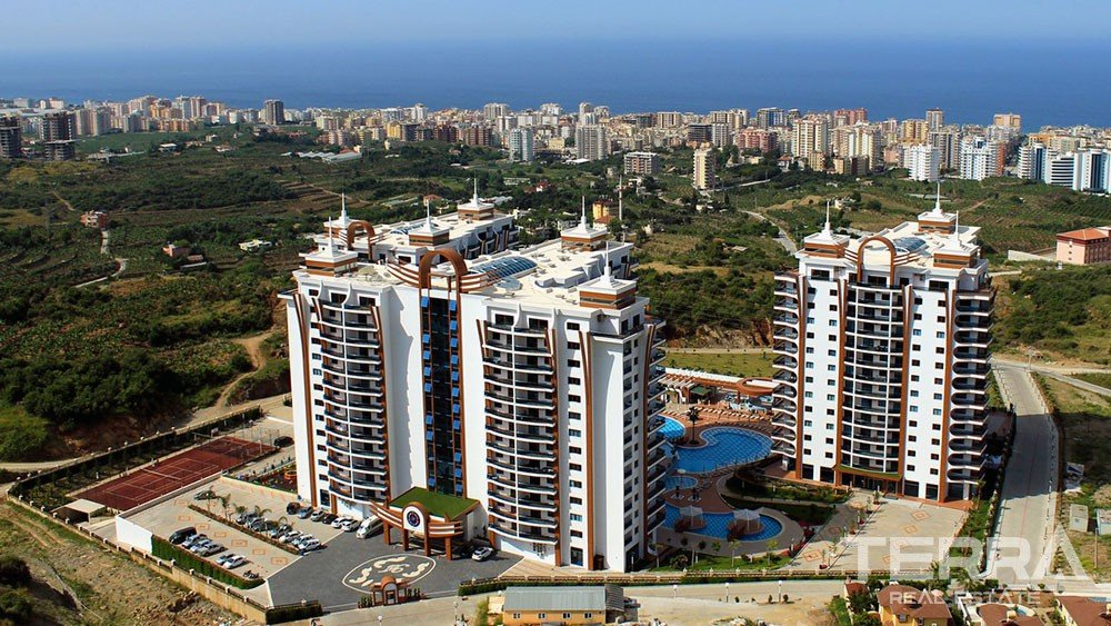 Exclusive Sea View Apartments for Sale in Mahmutlar, Alanya