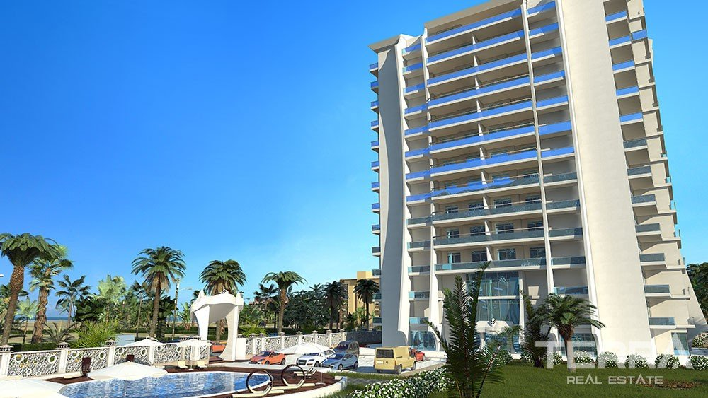 Sea-front apartments for sale in  Mahmutlar Alanya
