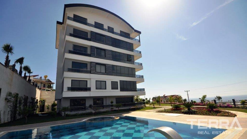 Exclusive seaview apartments for sale in Alanya, Kargicak