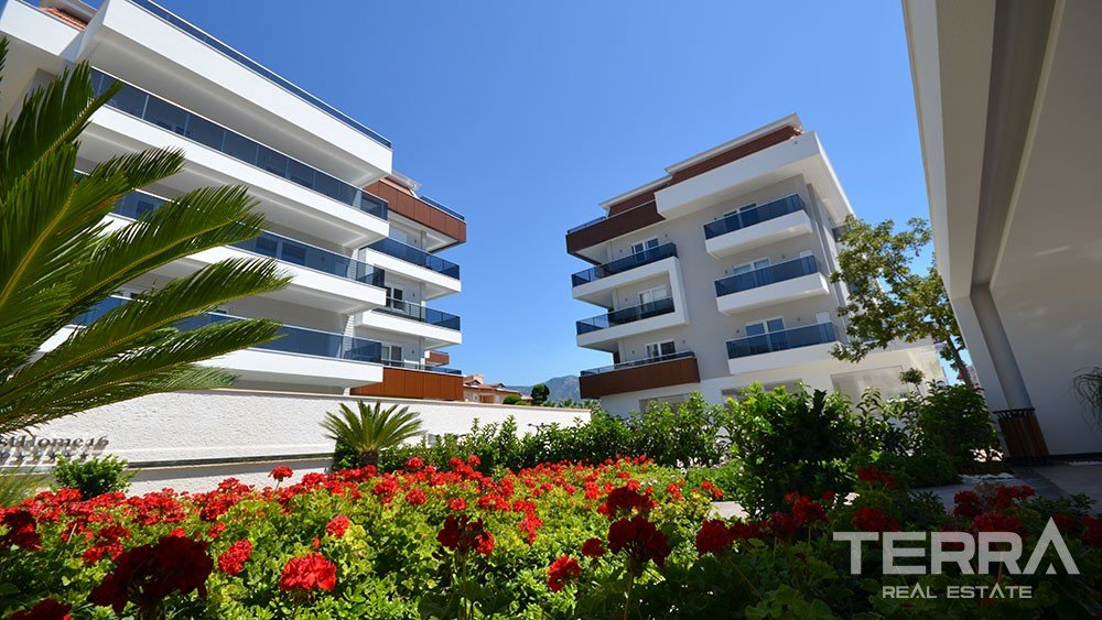 Exclusive Apartment for Sale in Oba, Alanya