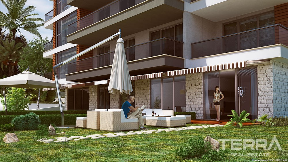 Casaba Luxury Apartments for sale in Oba, Alanya