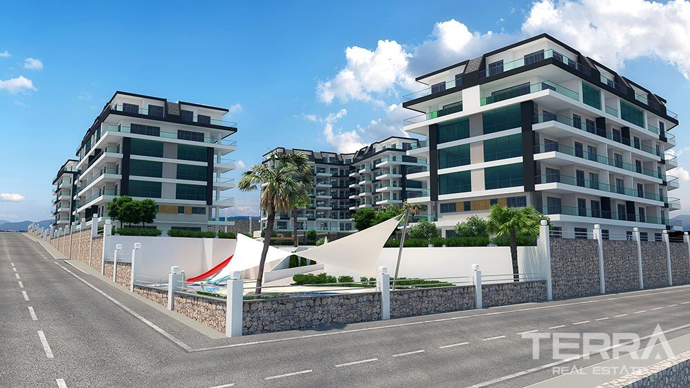 Luxury sea view apartments in Alanya, Kargicak