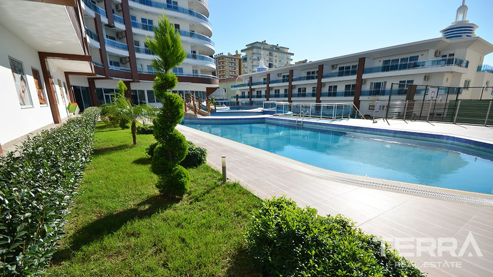 Five star residential complex in Mahmutlar, Alanya