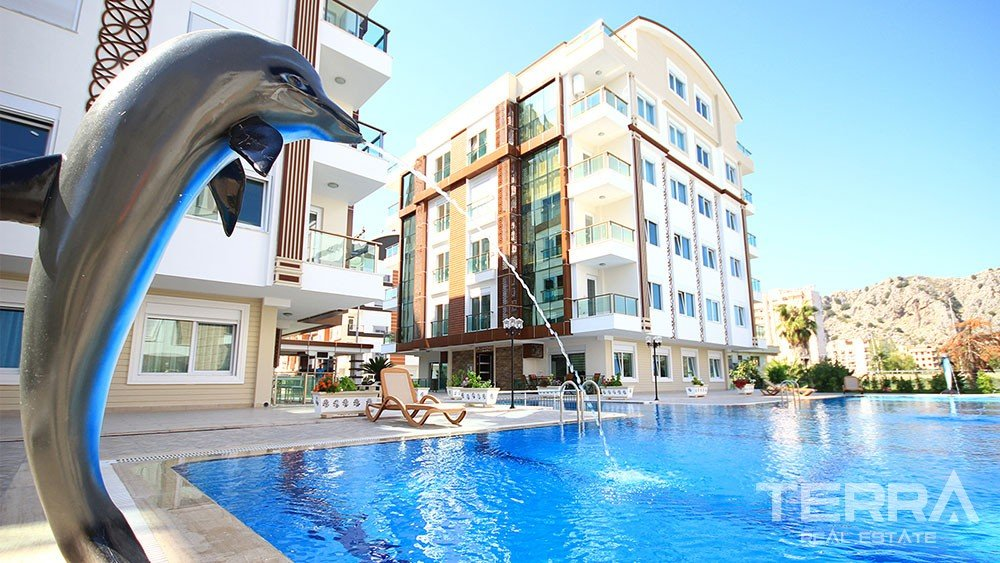 High quality apartments for sale in Konyaalti, Antalya