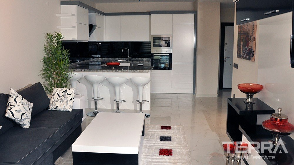 Apartments for sale at Nordic Life Residence in Alanya Tosmur