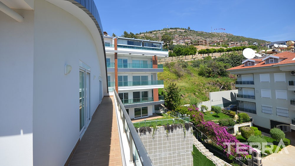 Luxury apartments for sale in central Alanya, Bektaş