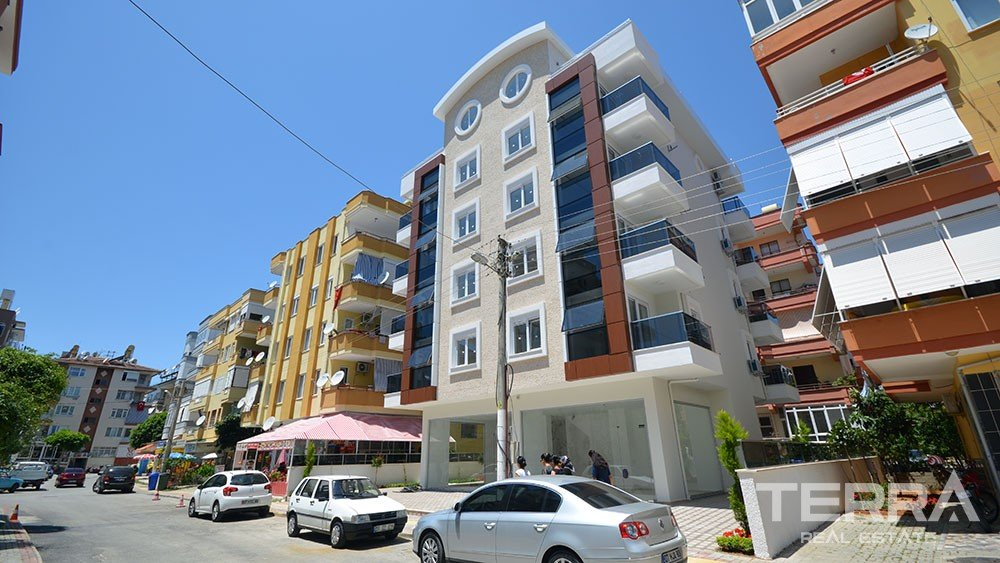 New apartments for sale in the heart of Alanya