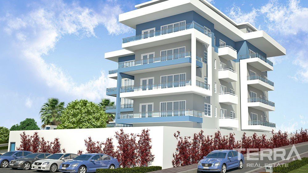 Brand new apartments for sale in Hasbahce, Alanya