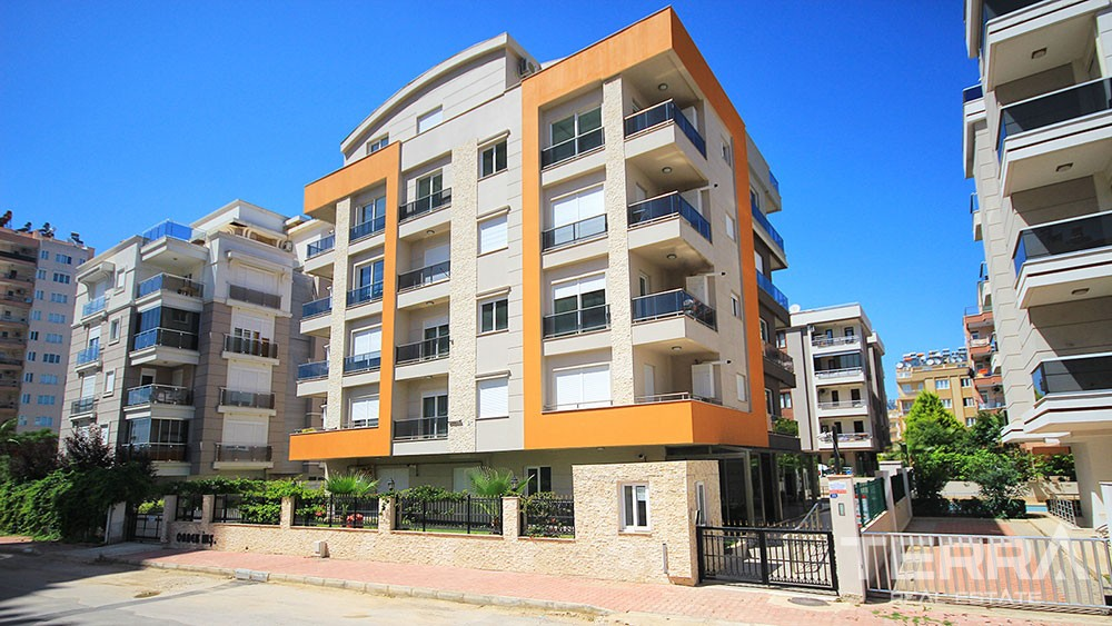 Cozy apartments for sale in Lara, Antalya