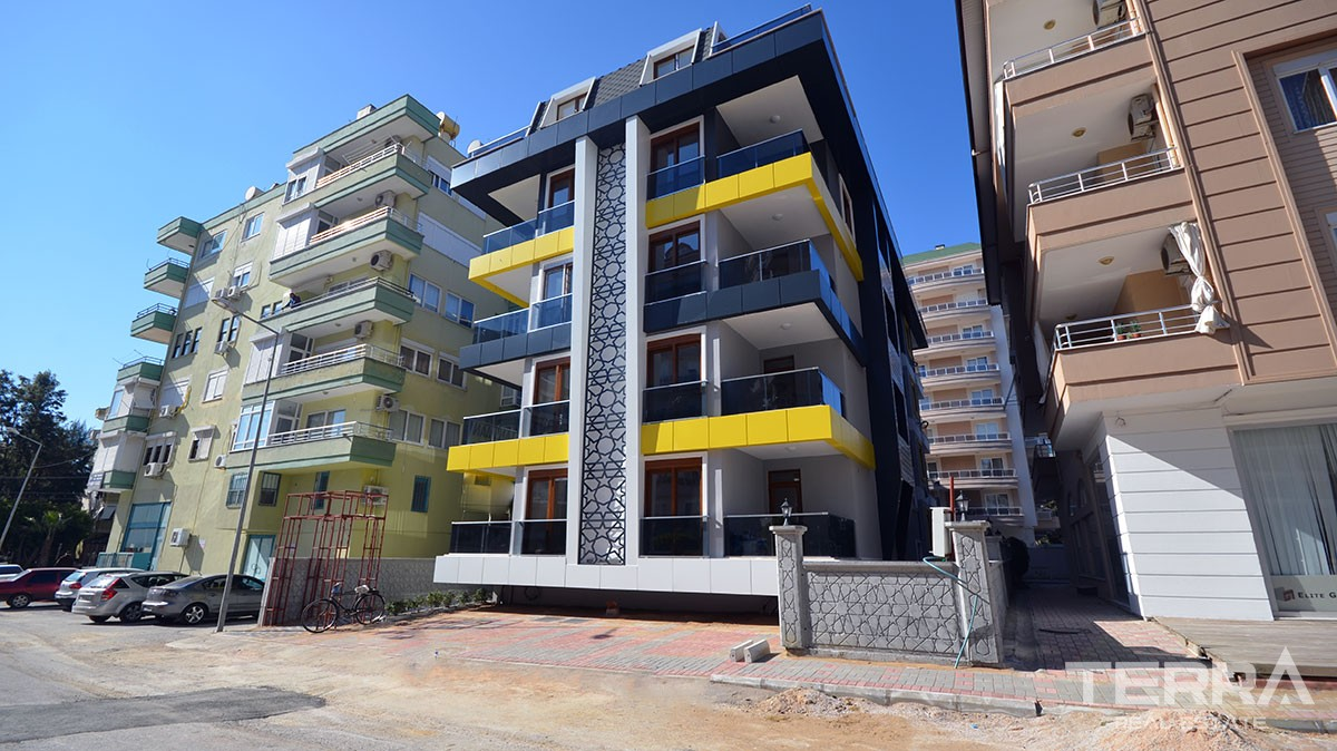Apartments for sale in the core of Alanya