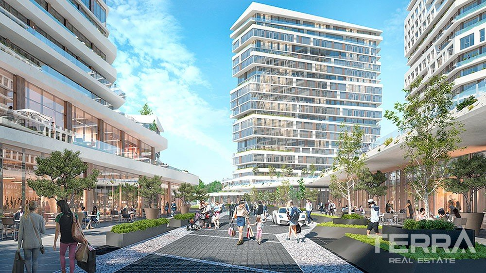 Luxury apartments for sale in Istanbul City Center