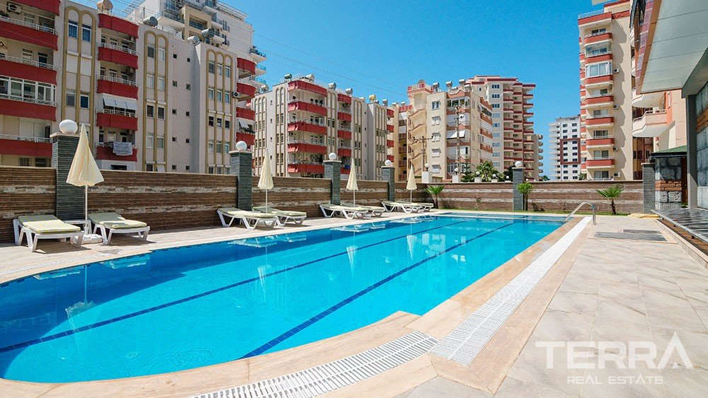 Cozy apartments for sale in Mahmutlar