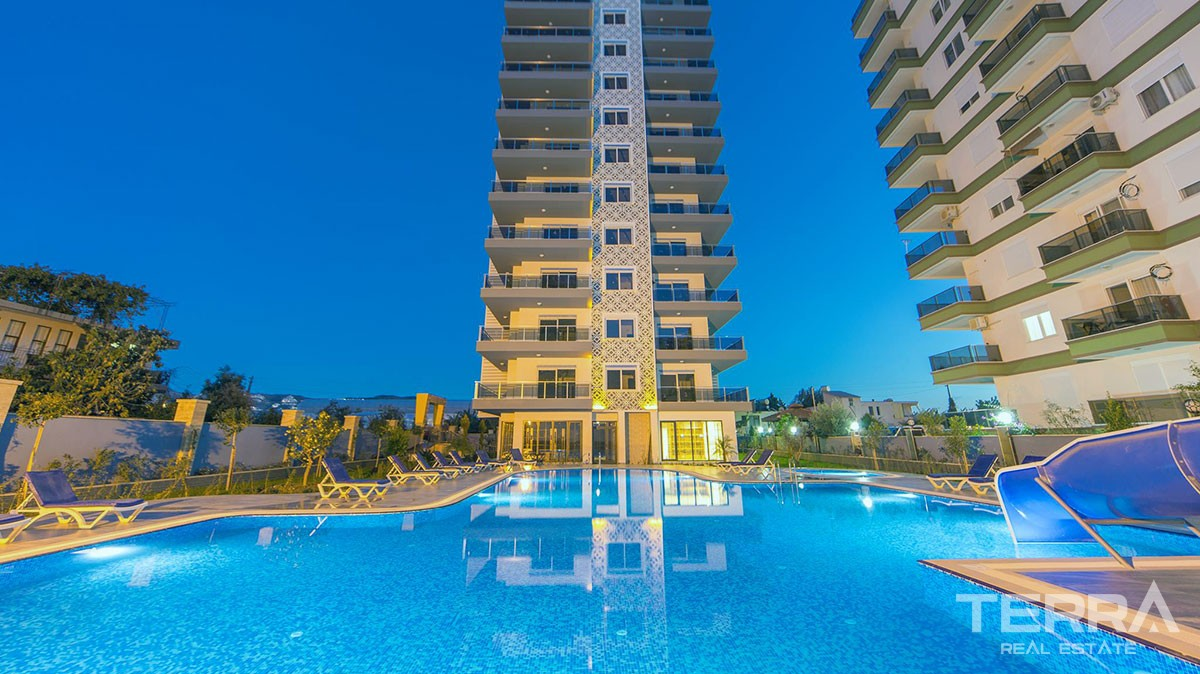Brand new apartments for sale in Mahmutlar, Alanya