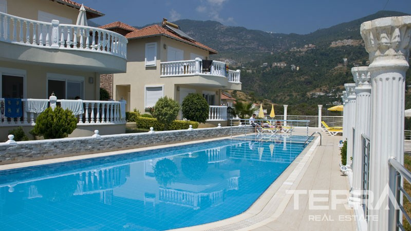 Seaview Villas for Sale in Alanya Tepe