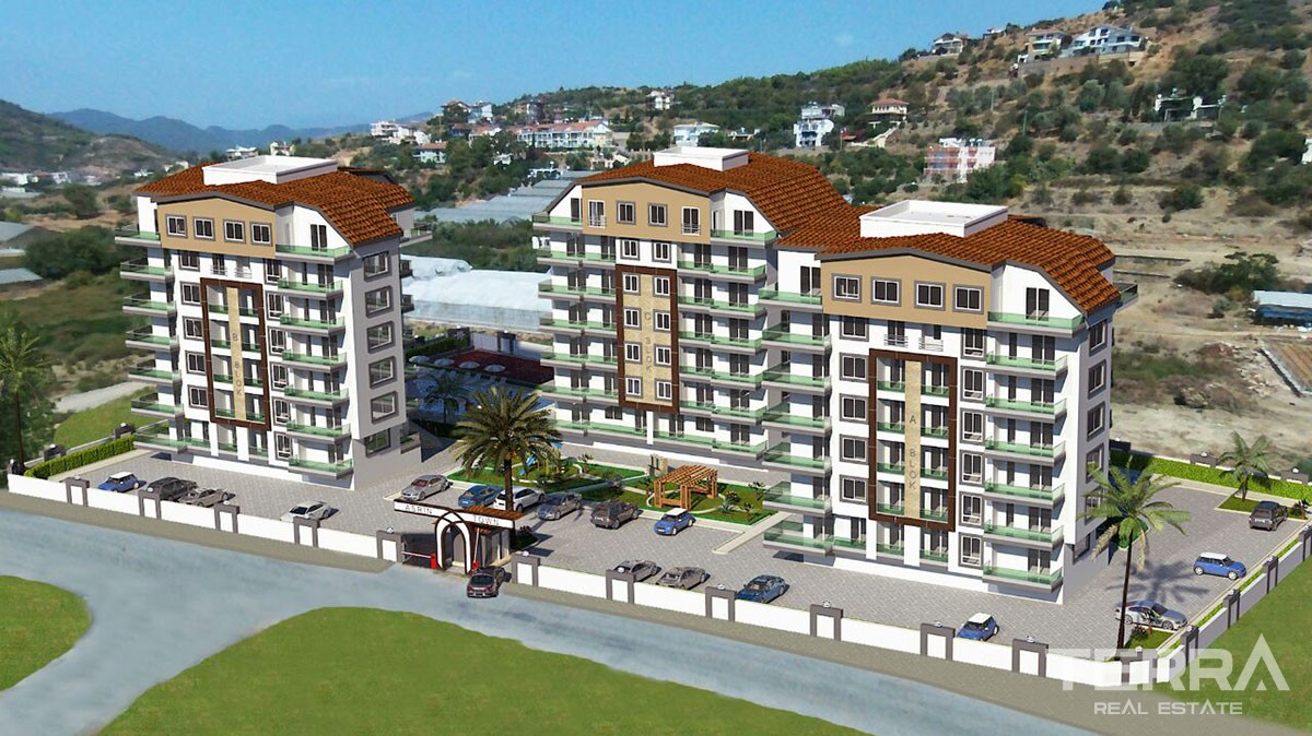 Asrin Apartments for sale in Gazipasa