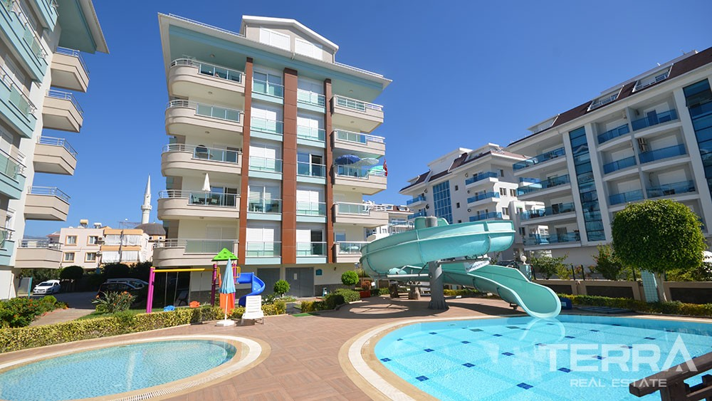 Beach front apartments for sale in Kestel, Alanya