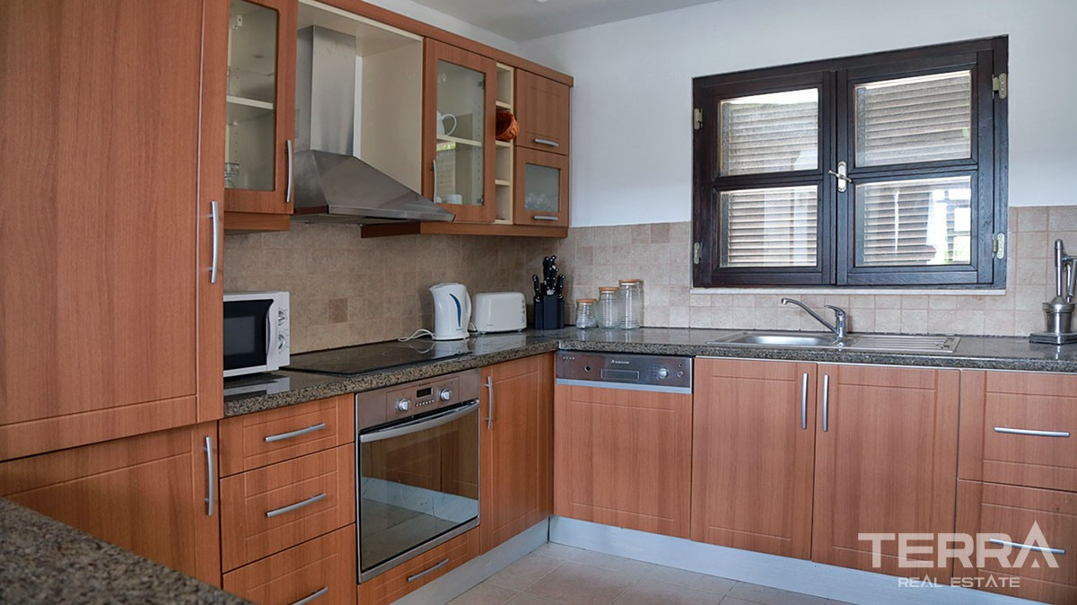Fully Furnished Houses for sale with Hotel Concept close to Belek