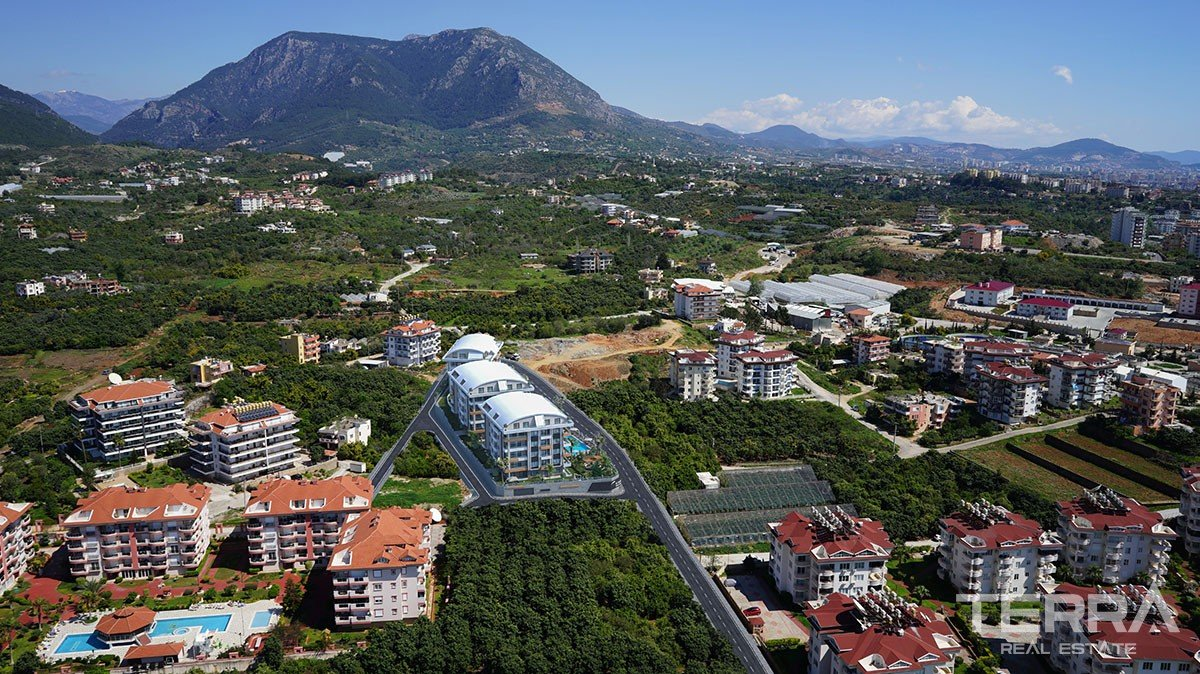 Luxury Apartments for Sale in Oba, Alanya