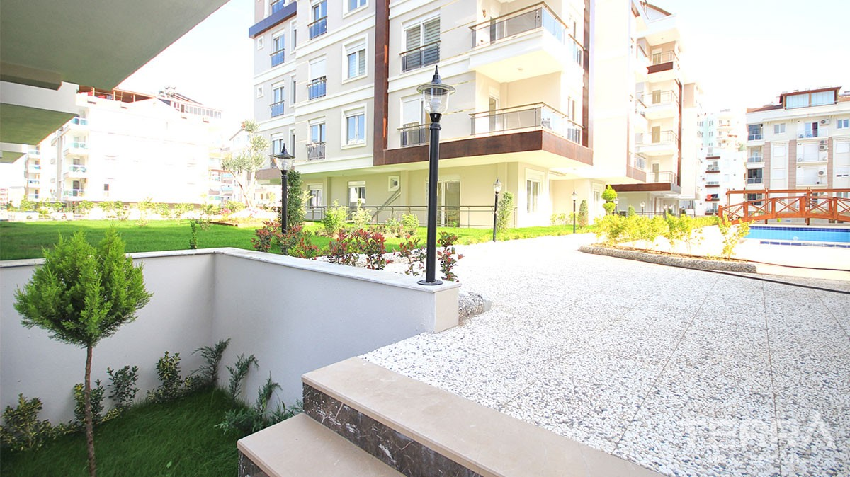 Brand new apartments for sale in Antalya