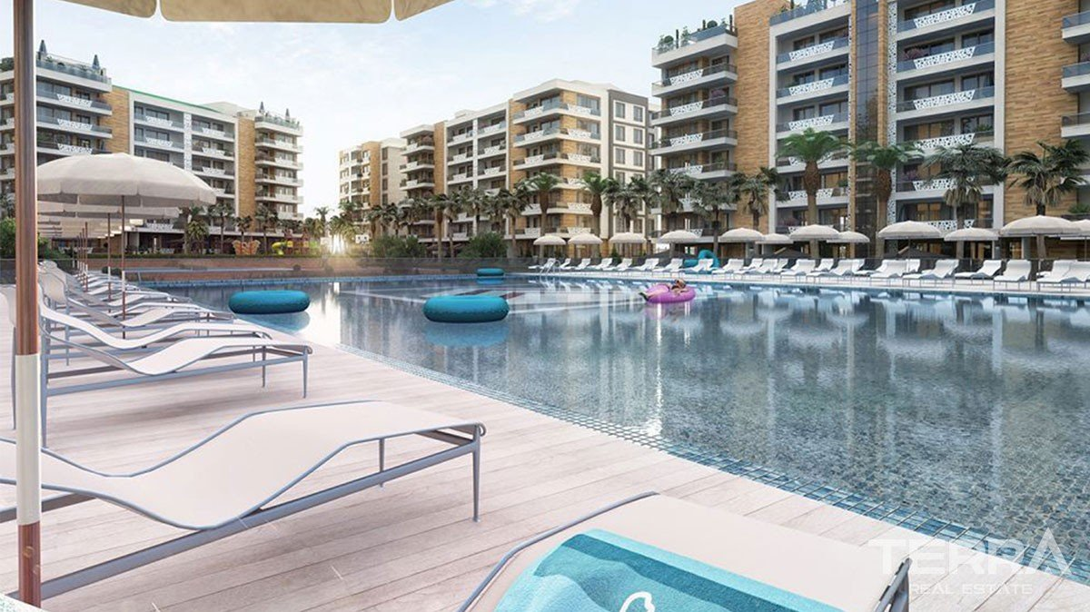 Luxury Brand New Residential Complex in Kepez Antalya