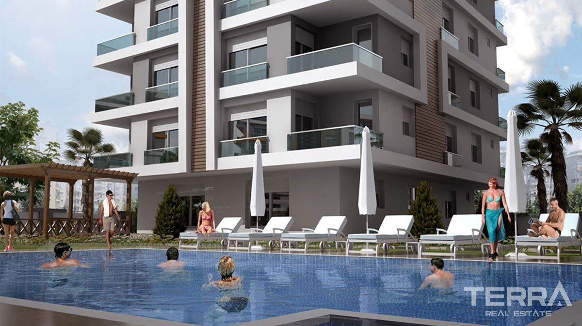 Hillside Apartments for sale in Antalya, Kepez