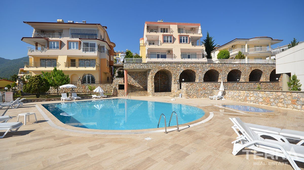 Sea View Villa With  Swimming Pool in Bektas, Alanya