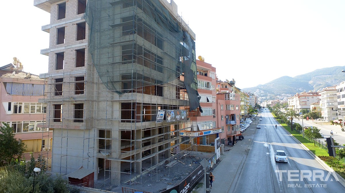 Spacious offices for sale with high rental income potential in Alanya