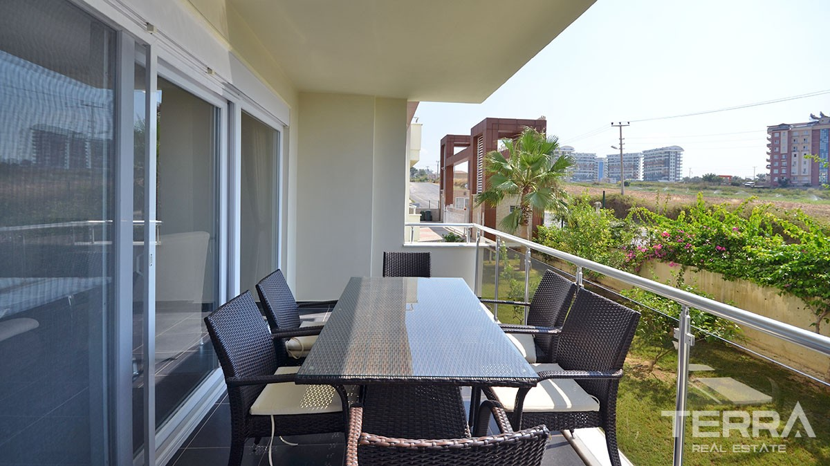 Furnished 2 bedroom apartment for sale in Orion City Avsallar Alanya