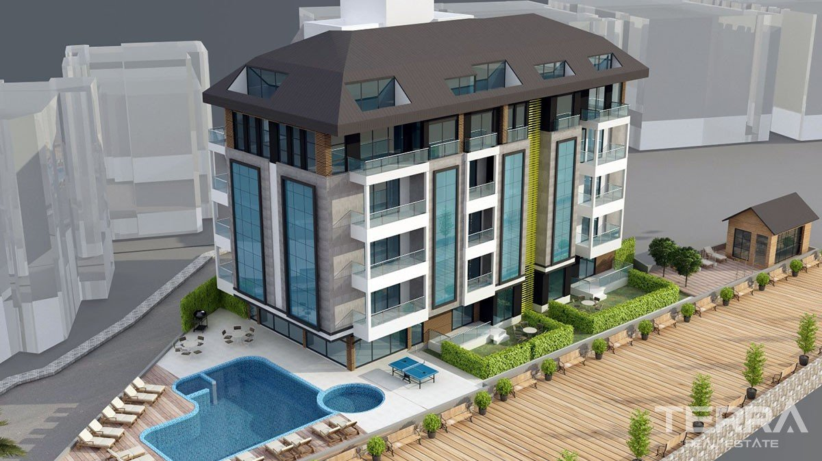New Apartments in the middle of Alanya City Centre for sale