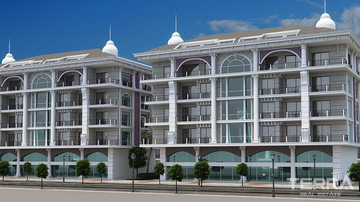 Luxury new apartments for sale in Kargıcak, Alanya