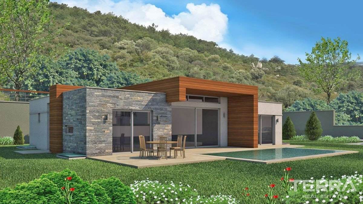 Detached Luxury Villas with Private Pools in Central Yalıkavak Bodrum