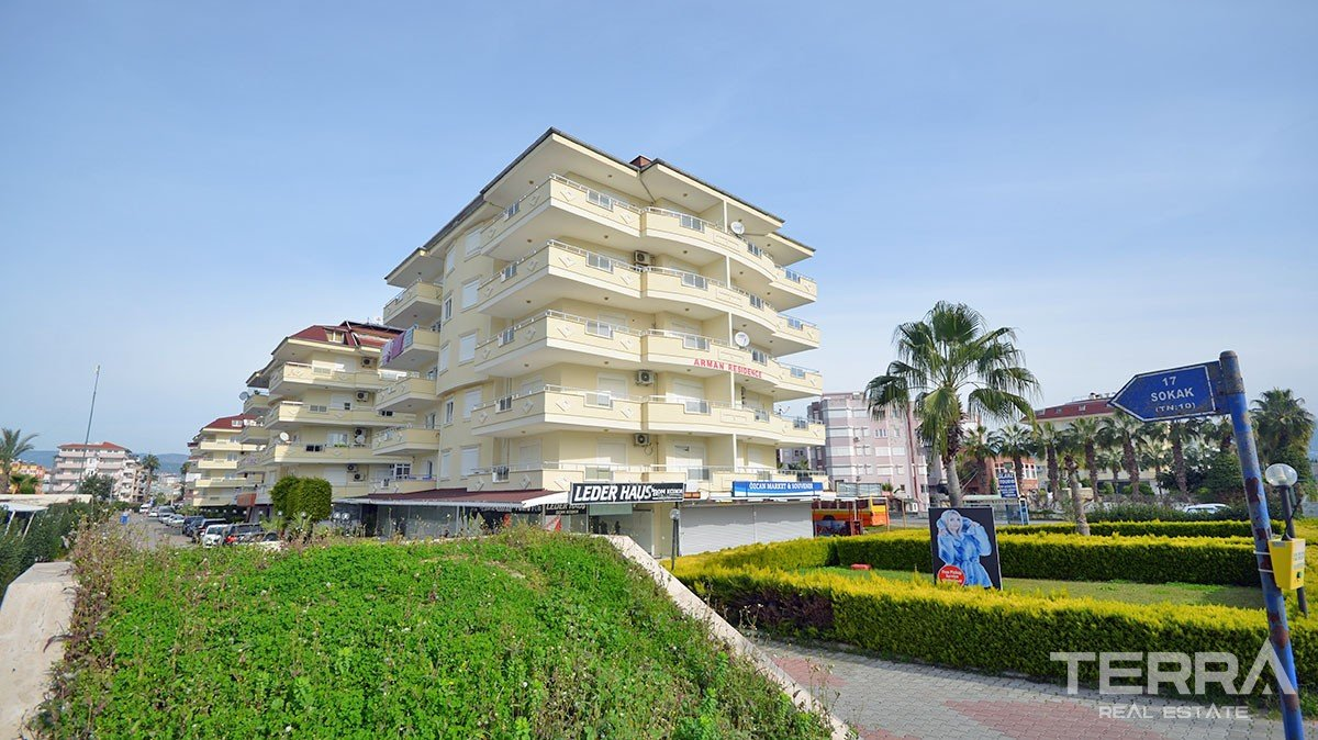 Cheap 2 bedrooms apartment for sale in Alanya, Konakli