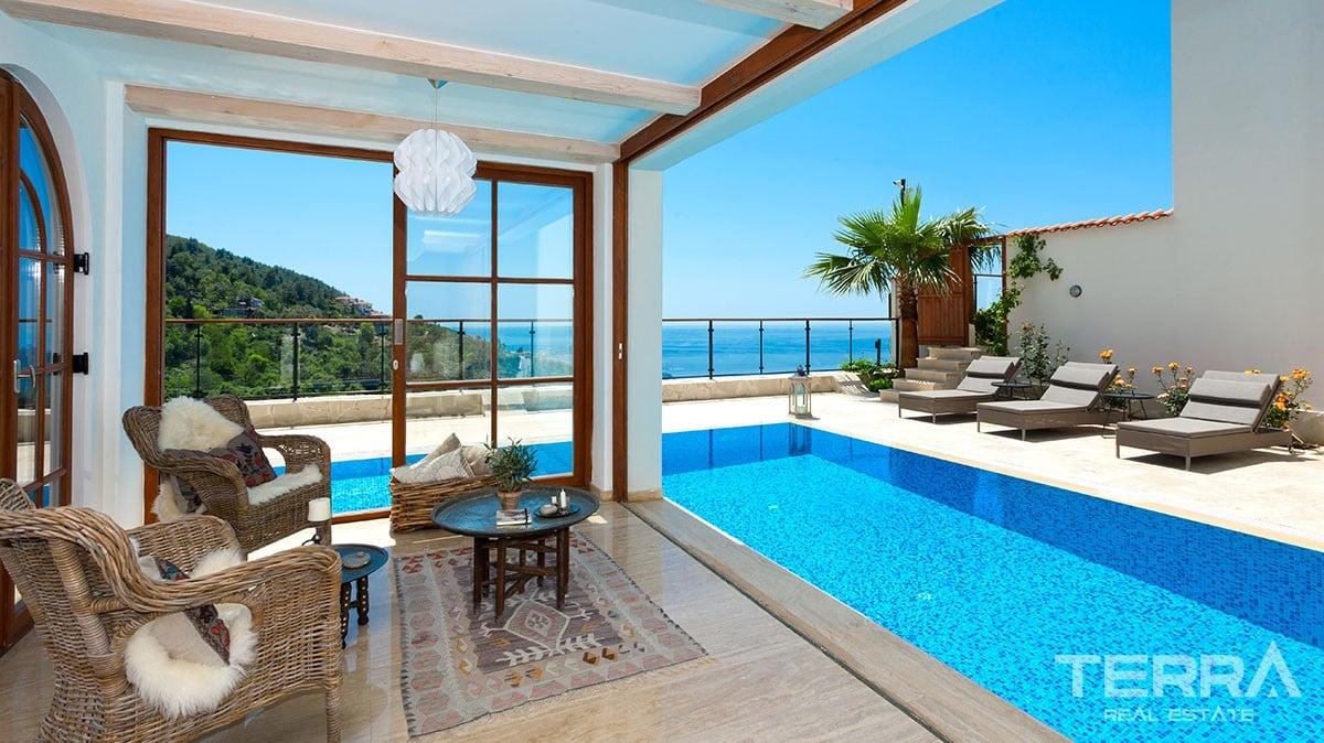 Unique sea view villa for sale in alanya for Donasea villas 7