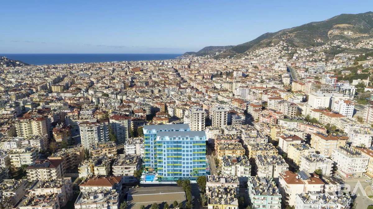 Brand new apartments for sale in core of Alanya City Centre