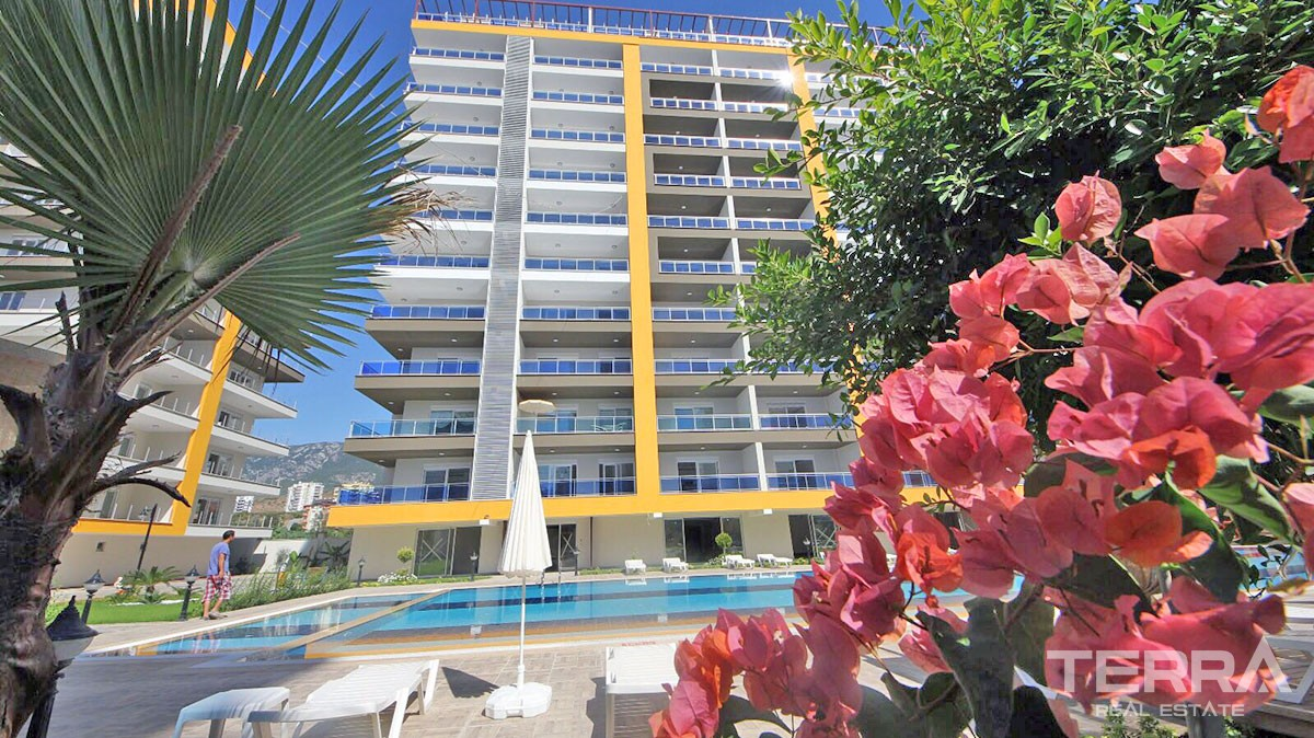 Attractive apartments for sale in Mahmutlar, Alanya