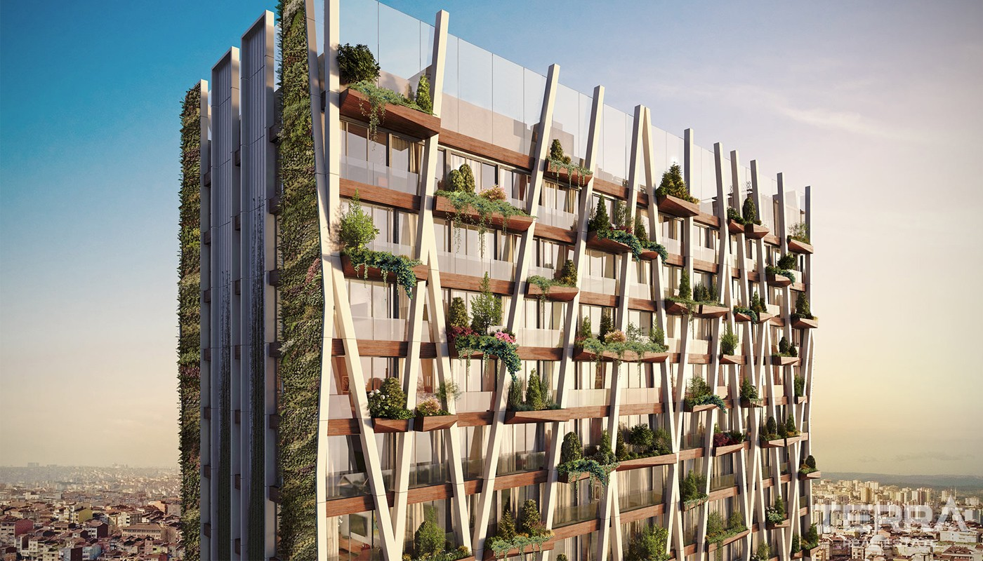 LEED Certified Apartments in Levent for Sale in Istanbul