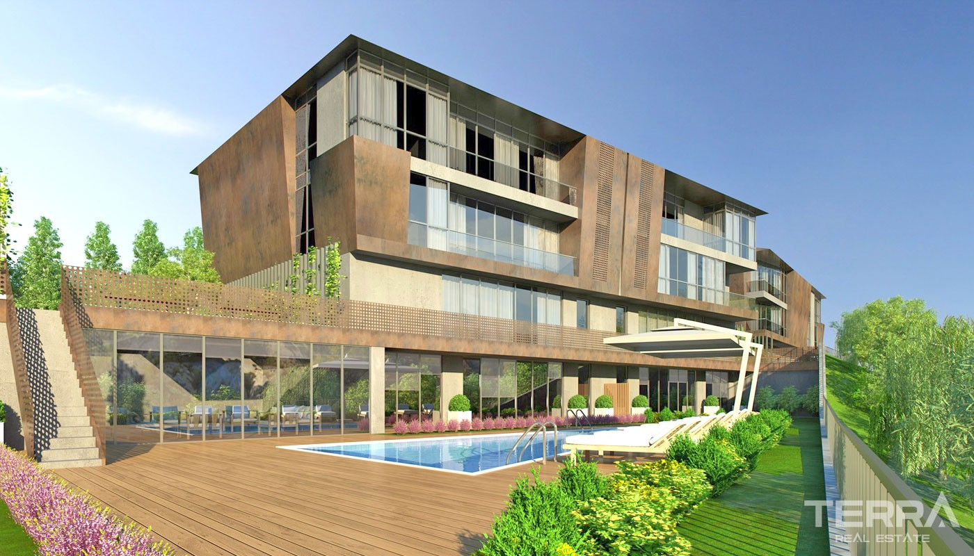 Apartments in Sarıyer Istanbul in a very Prestigious Location