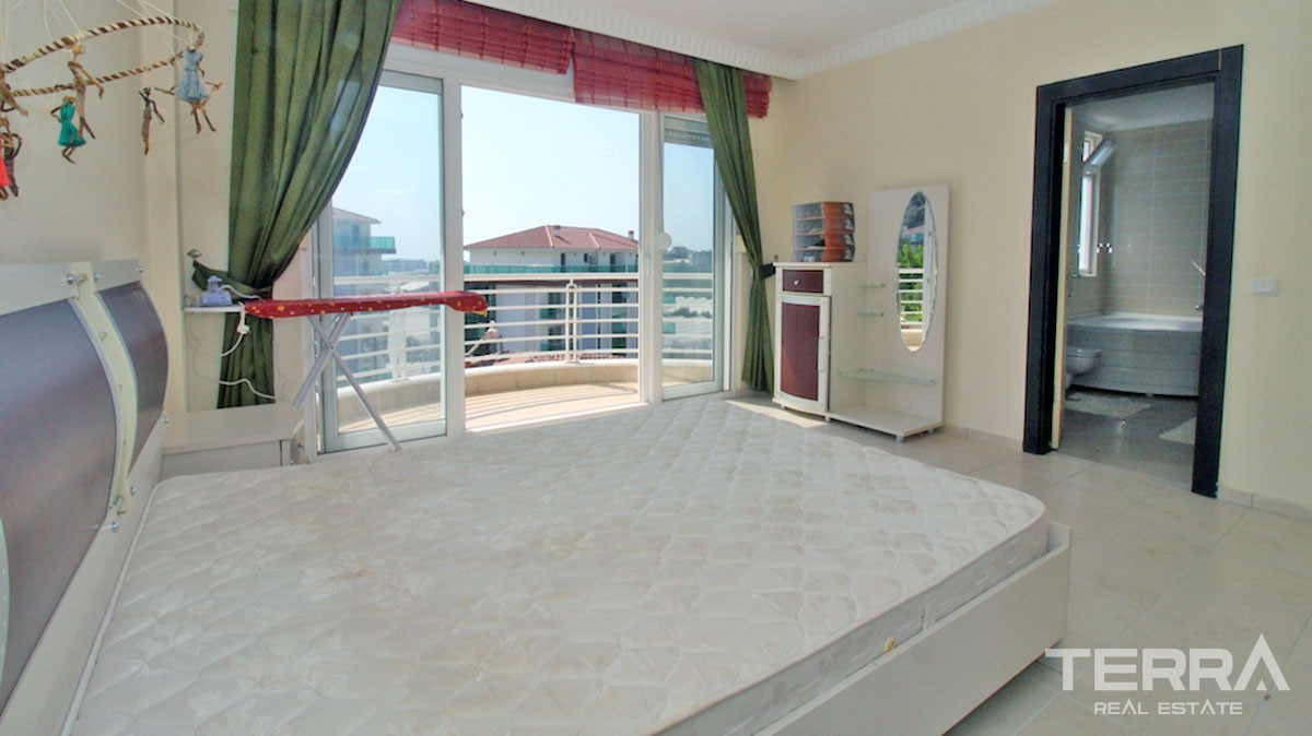 Modern designed villa for sale in Alanya, Kargıcak