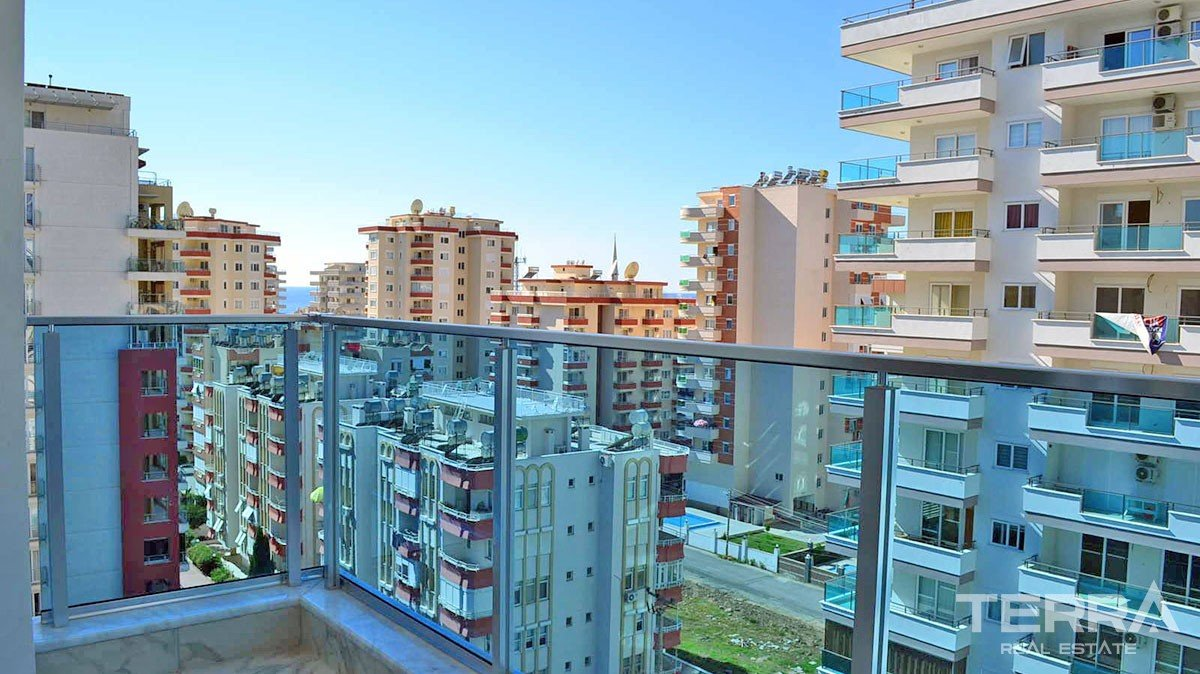 Quite cheap apartments for sale in Mahmutlar, Alanya