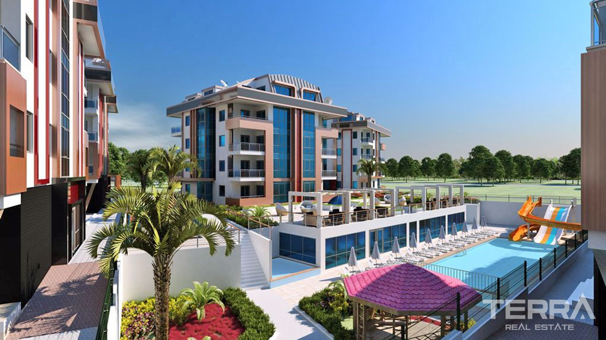 Luxury new apartments for sale with high quality standards in Oba