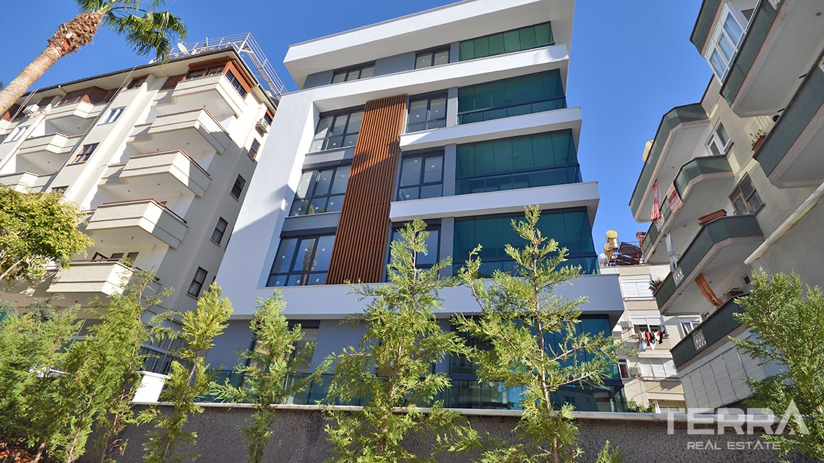Brand-new Apartments for Sale in Cleopatra Region Alanya