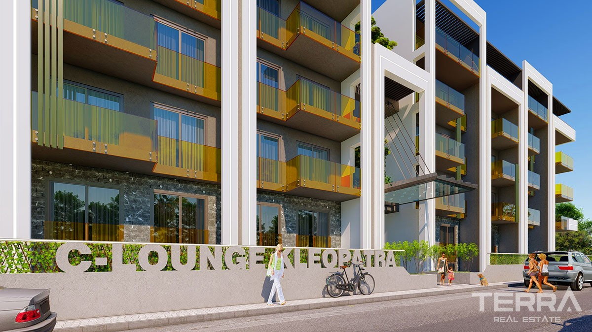 C-Lounge Cleopatra Luxury Apartments for Sale in Alanya City Center