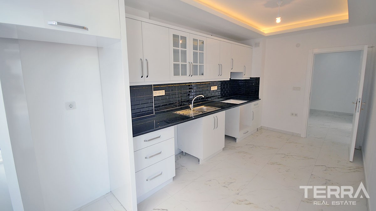 Totally renovated resale Apartment in Alanya close to Cleopatra Beach