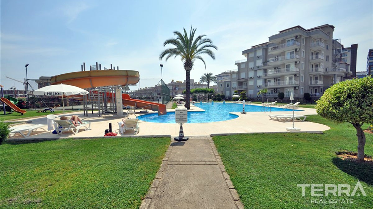 Bargain apartments for sale at Helios Residence in Alanya Cikcilli